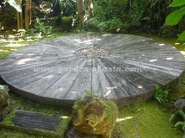 Woodstone Sleepers Made In Thailand Garden Of Asia