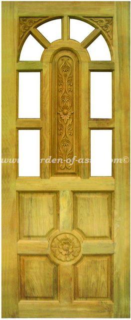 Solid Wood Doors Made In Thailand Garden Of Asia